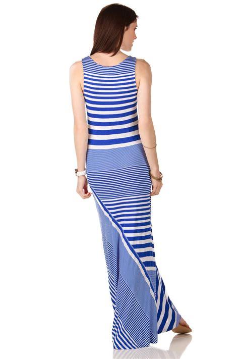 Maxi Stripe Fransisca johns island striped maxi dress s