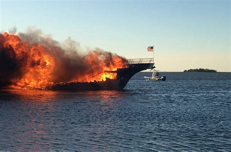fire boat connection woman dies after fire on casino boat off florida s coast