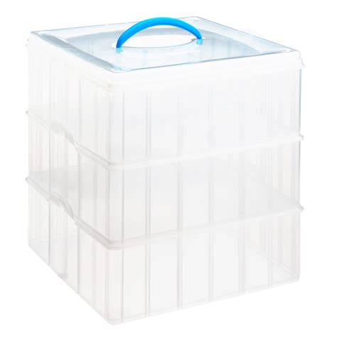 snapware 174 snap n stack 174 home storage container 12 quot x 12