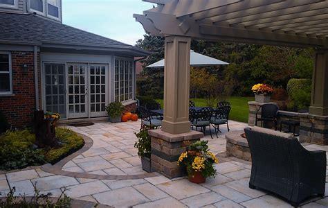 Backyard Pergola Plans Patios Amp Outdoor Rooms Poul S Landcaping Amp Nursery Inc