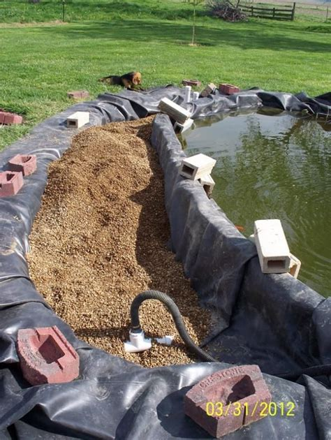 how to clean a pond without draining it 78 images about pond bog filter ideas and designs on