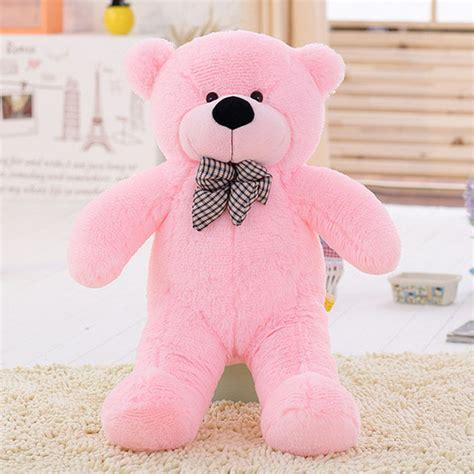 Hot !Brand New Big Stuffed Plush Teddy Bear Soft Doll Toy ... Giant Pink Teddy Bear