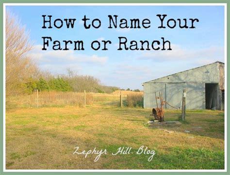 ranch names image gallery farm names