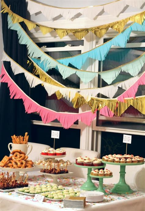 Simple Birthday Decoration Ideas At Home by Diy To Try Party D 233 Cor Theglitterguide Com