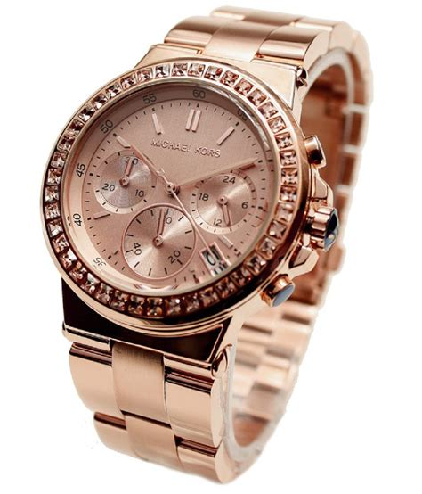 michael kors womens gold tone price in