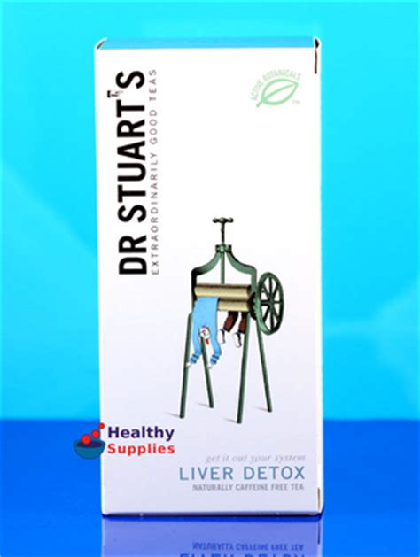 Dr Stuart Detox Tea Bags by Liver Detox Herbal Tea 15 Bags Dr Stuart S