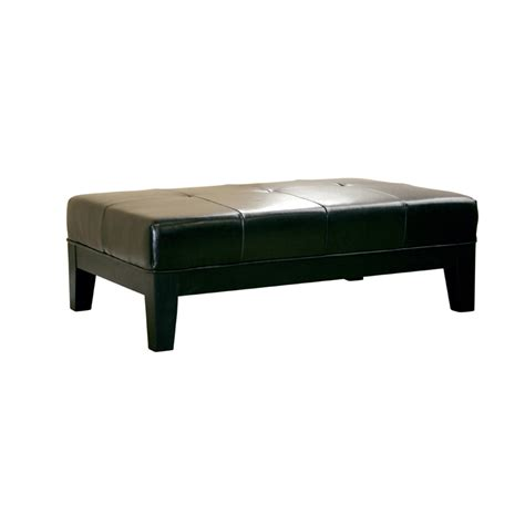cheap black ottoman cheap black ottoman wholesale interiors bicast leather