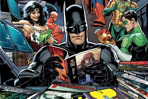dc offers digital sale on its 25 essential graphic novels