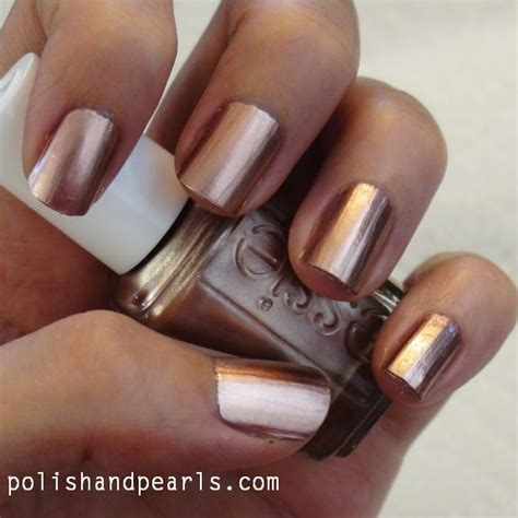 8 Nail Colours You Need For Right Now by Best 25 Copper Nails Ideas On
