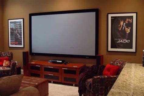 tv room decoration media rooms with big screen tv simple home decoration