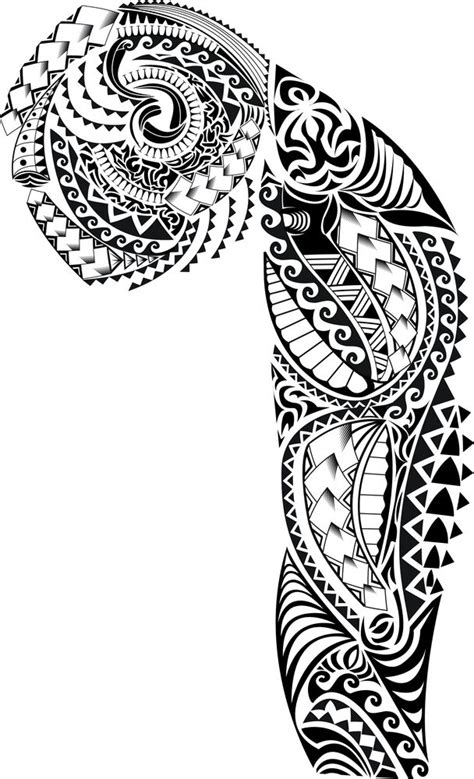 free half sleeve tattoo designs best 25 tribal tattoos ideas on