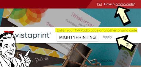 Vistaprint 50 Business Cards Promo Code