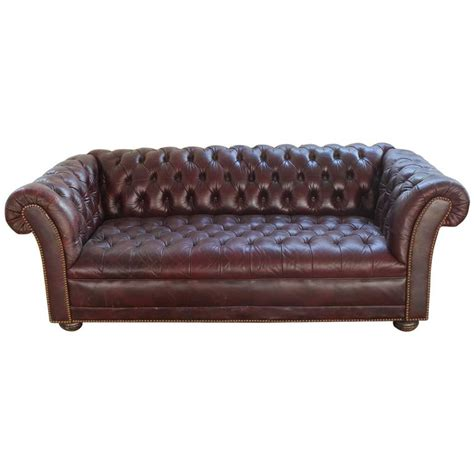 burgundy chesterfield sofa vintage distressed burgundy leather chesterfield sofa at