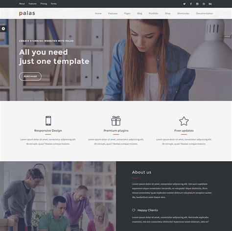 business services web design templates web