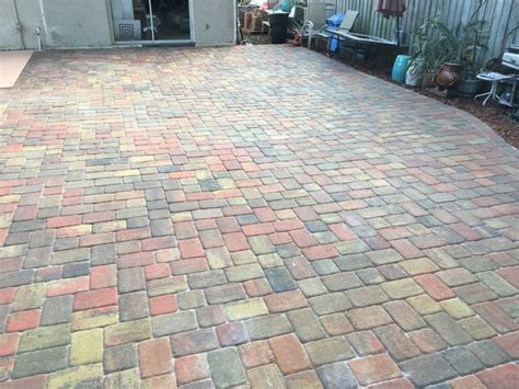 How To Clean Paver Patio Cleaning Brick Patio Vinegar Patio Building