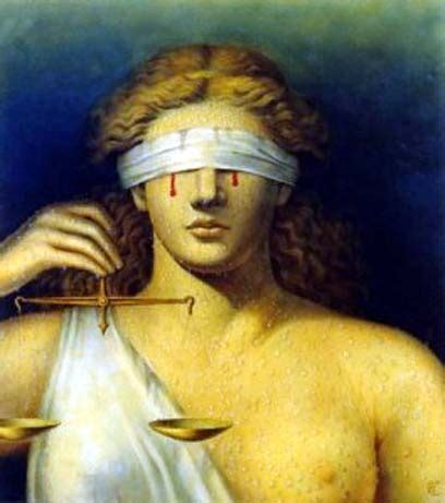 blind justice justice blind and bound