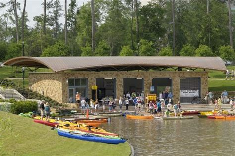 canoe boat house the woodlands texas kayak rentals are available at the