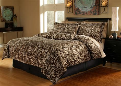 Details about 5pcs twin xl extra long leopard bedding comforter set