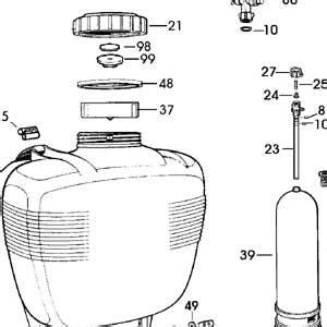 sprayer parts diagram sprayer parts