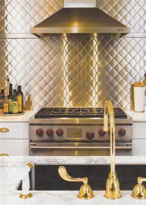 stainless steel backsplash contemporary kitchen
