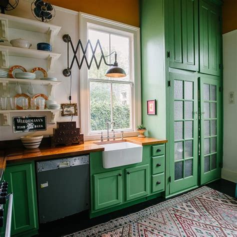 kitchens with green cabinets best 20 green kitchen cabinets ideas on green