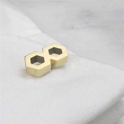 geometric infinity geometric infinity cufflinks by tales from the earth