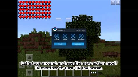 mods in minecraft ios ios android minecraft pe ultimate mod tmi fov