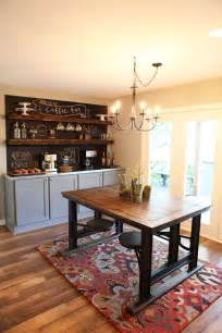 Dining Room Coffee Bar Must Hgtv S Fixer M Is For