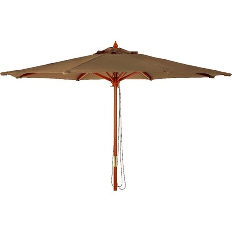 9 Market Brown Canopy Umbrella Brown Patio Umbrella