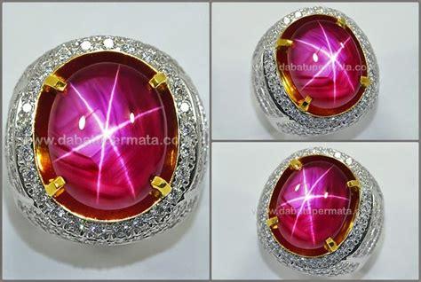Cincin Batu Ruby waspada batu cincin ruby palsu jual berlian harga