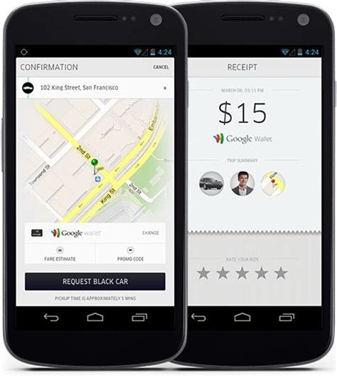 uber app for android uber taxi app ui ux for android ui app design uber taxi app and