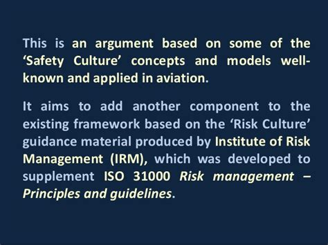Risk Management Concepts And Guidance chc safety quality summit 2016 risk culture in