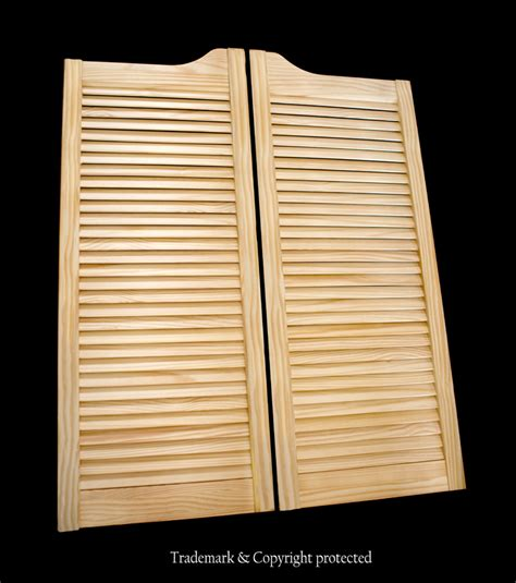 louvered swinging doors pine swinging doors by swinging doors emporium pine