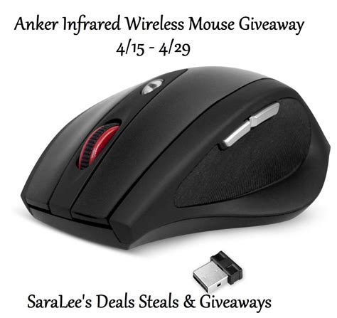 Mouse Infrared anker infrared wireless mouse review saralee s deals steals giveaways