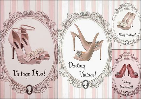 imagenes vintage zapatos set de zapatos rosa de darling vintage de marco fabiano