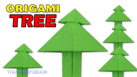 Tree Paper Folding - origami step by step how to make origami