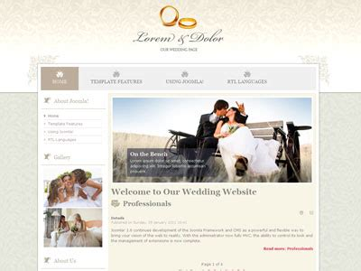 jm wedding04 joomla 1 6 template joomla nuptial template