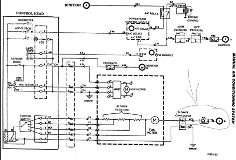 1998 jeep grand blower motor wiring diagram