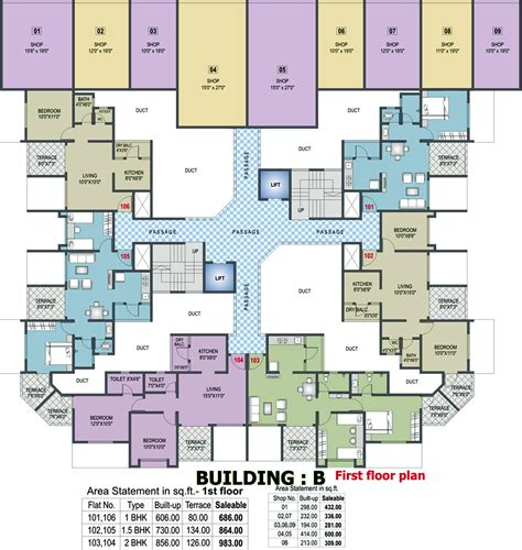 twin towers floor plans 983 sq ft 2 bhk 2t apartment for sale in sharma