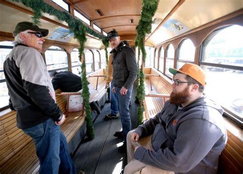 Trolly Oksigen Mt 89 taproom trolley billings brewers distillers start downtown service local billingsgazette