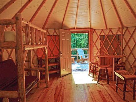 Yurt Photos Interior 5 Georgia State Parks That Offer Yurt Camping