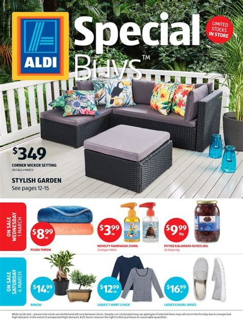 aldi folding table 2017 aldi catalogue specials week 9 1 7 march 2017 http