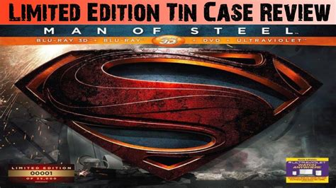 Kaos 3d Of Steel Limited Edition of steel limited collector s edition 3d tin