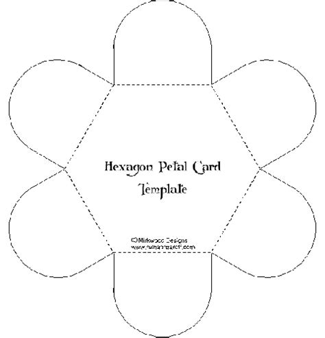 petal card envelope template 27 best card templates images on card