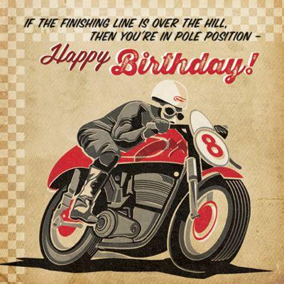Motorbike Birthday Cards finishing line motorbike birthday card karenza paperie