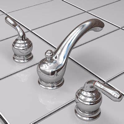 Moen Monticello Bathroom Faucet by 3d Max Moen Monticello Lavatory
