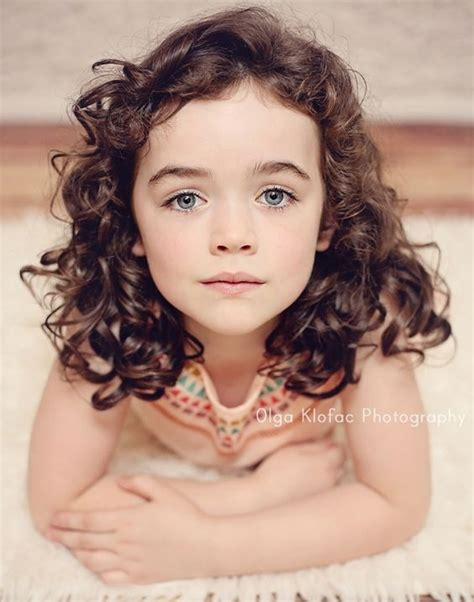 curly hairstyles for two year olds beautiful 6 year old girl with dark long curly hair