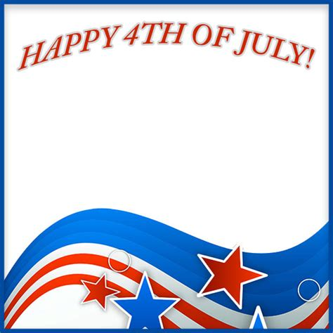 Happy 4th Of July Borders Free 4th Of July Border Clip Art Happy 4th Of July Email Template
