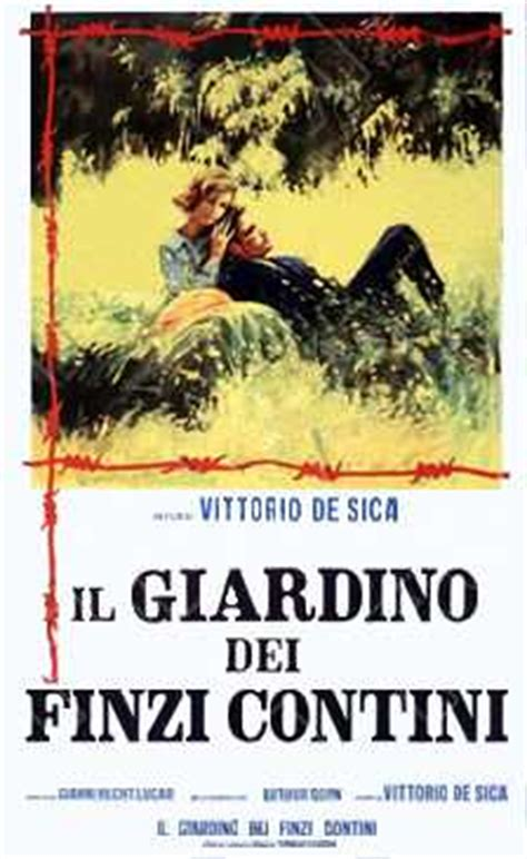il giardino dei finzi contini the garden of the finzi continis film wikipedia
