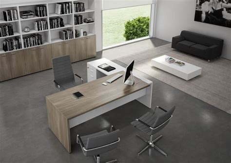 Modern Desk Furniture 25 Best Ideas About Contemporary Office Desk On Office Images Grey Study Desks And